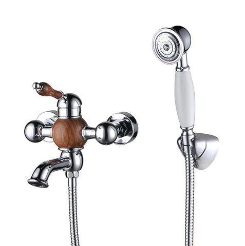 Смеситель KAISER Wood 61022 для ванны