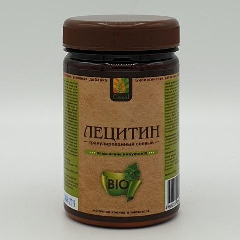 Лецитин соевый гранулированный порошок CEREAL, 150 гр