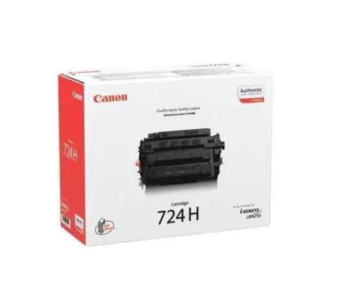 Картридж  Canon  724Н черный увеличенной емкости 3482B002