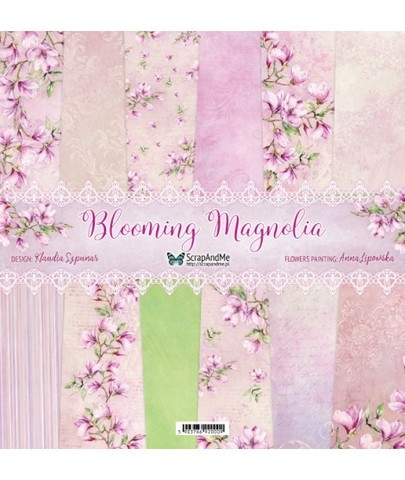 Набор бумаги «Blooming Magnolia », 30,5 х 30,5 см, 250 г/м²