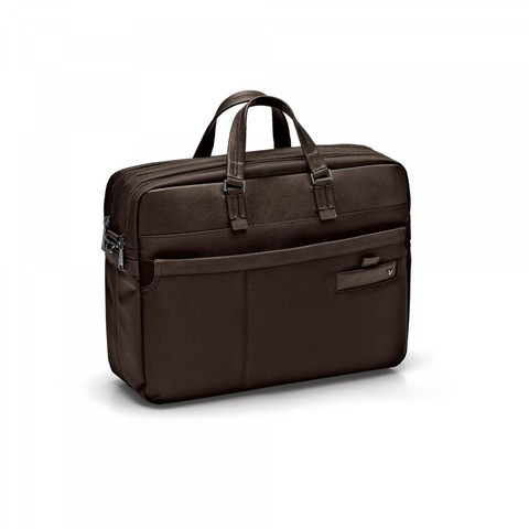 Сумка Roncato Harvard LAPTOP BAG 2 comp. Dark brown