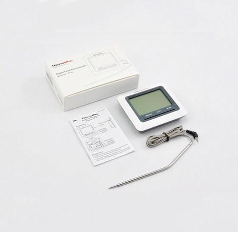 Цифровой термометр с выносным щупом ThermoPro-TP04 (кулинарный, кондитерский, пищевой)