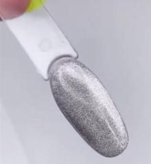 Gellaktik Гель-лак магнитный Lellis Silver Veil...