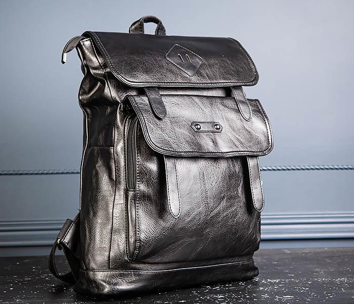 BAG531-1 Большой рюкзак из искусственной кожи фото 06