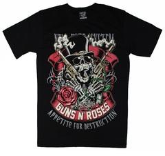 BTB Guns N' Roses — Футболка рок-группа Стволы и Розы