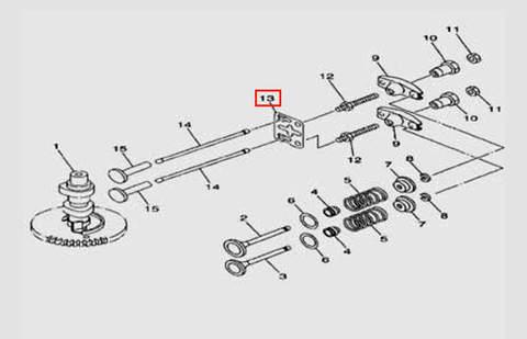 Пластина направляющая для лодочного мотора F5 Sea-PRO(5-13)