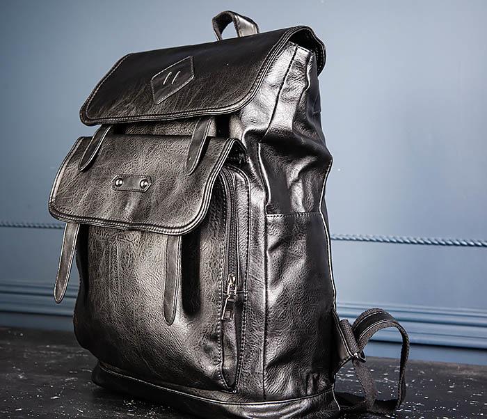 BAG531-1 Большой рюкзак из искусственной кожи фото 07