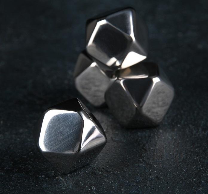 Фото - Набор камней для виски 22 см, нержавеющая сталь, 4 шт набор металлических камней для виски с гелем 4 шт fie 019 vin bouquet
