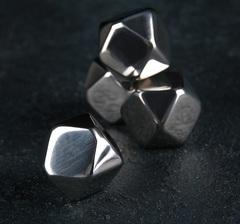 Набор камней для виски 2×2 см, нержавеющая сталь, 4 шт, фото 1