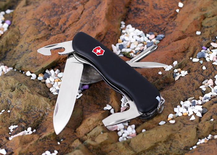 Складной швейцарский нож Victorinox Centurion Black (0.8453.3) - Wenger-Victorinox.Ru
