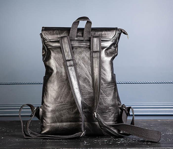 BAG531-1 Большой рюкзак из искусственной кожи фото 08