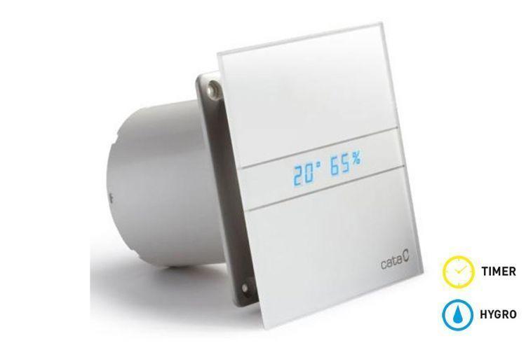Cata E glass series Накладной вентилятор Cata E 120 GTH (Влажность, таймер, термометр, дисплей) + обратный клапан 5260b445e611ba6a4859e3dd3bf95f10.jpg