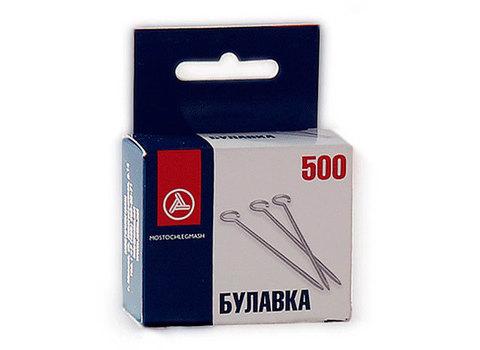 Булавки одностержневые  (ТИП 1-30), 500 шт., (Арт. С3-0Б4Б)