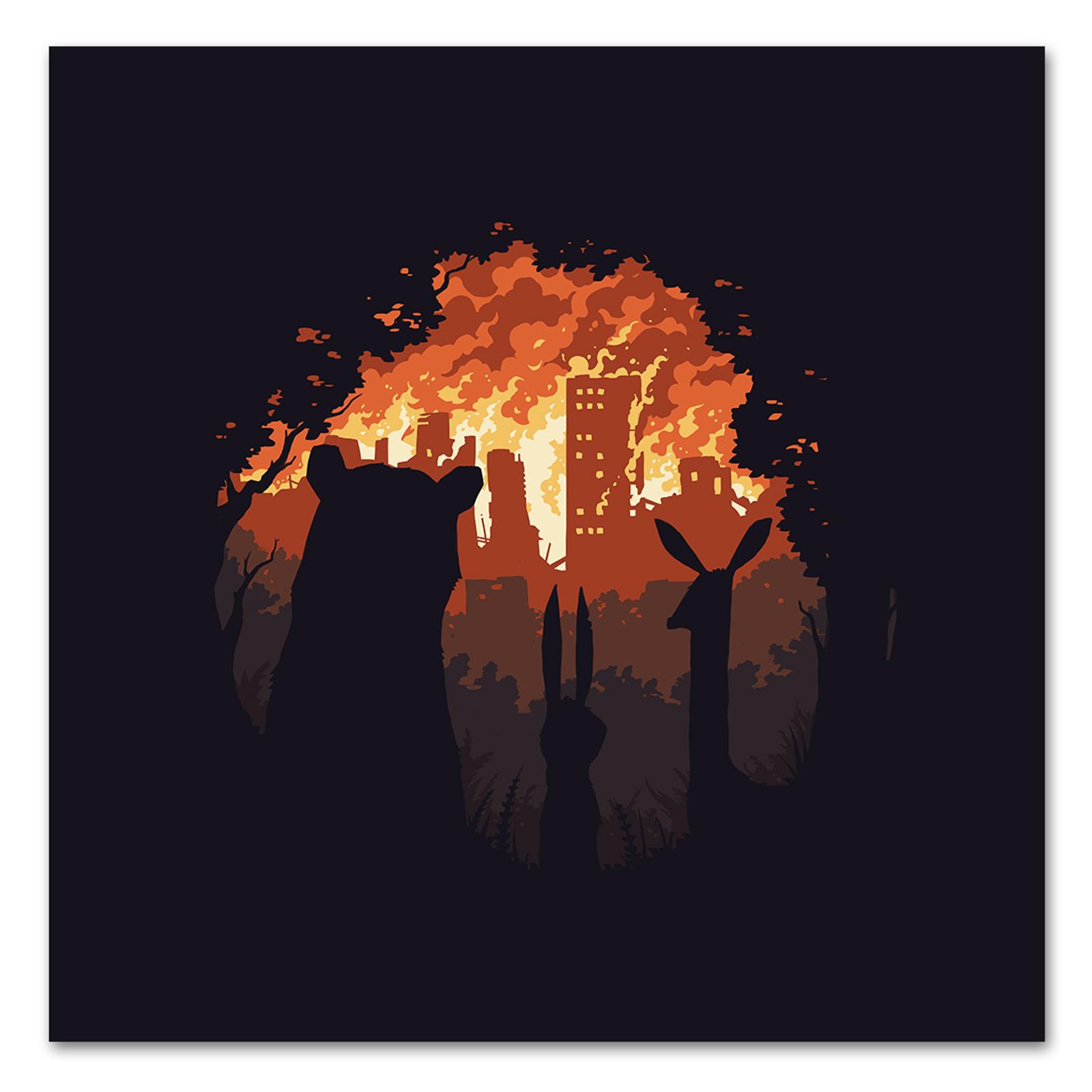 BURN BURN BURN / Постер