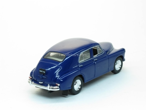 GAZ-M20 Pobeda 2nd series dark blue 1:43 Nash Avtoprom