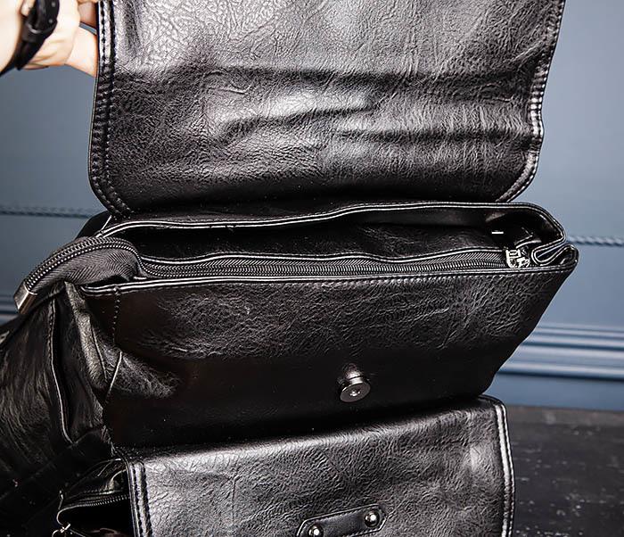 BAG531-1 Большой рюкзак из искусственной кожи фото 10
