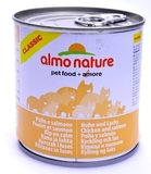Almo Nature Classic Adult Cat Chicken&Salmon Консервы для кошек с курицей и лососем 1х280 г. (20069)