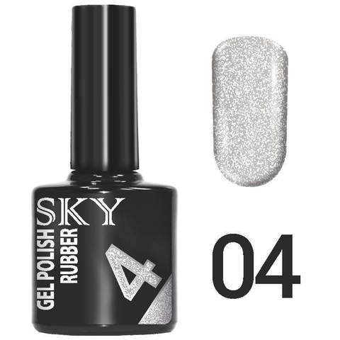 Sky Гель-лак трёхфазный тон №004 10мл
