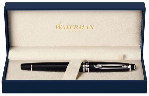 Перьевая ручка Waterman Expert 3, цвет: Black CT, перо: F123