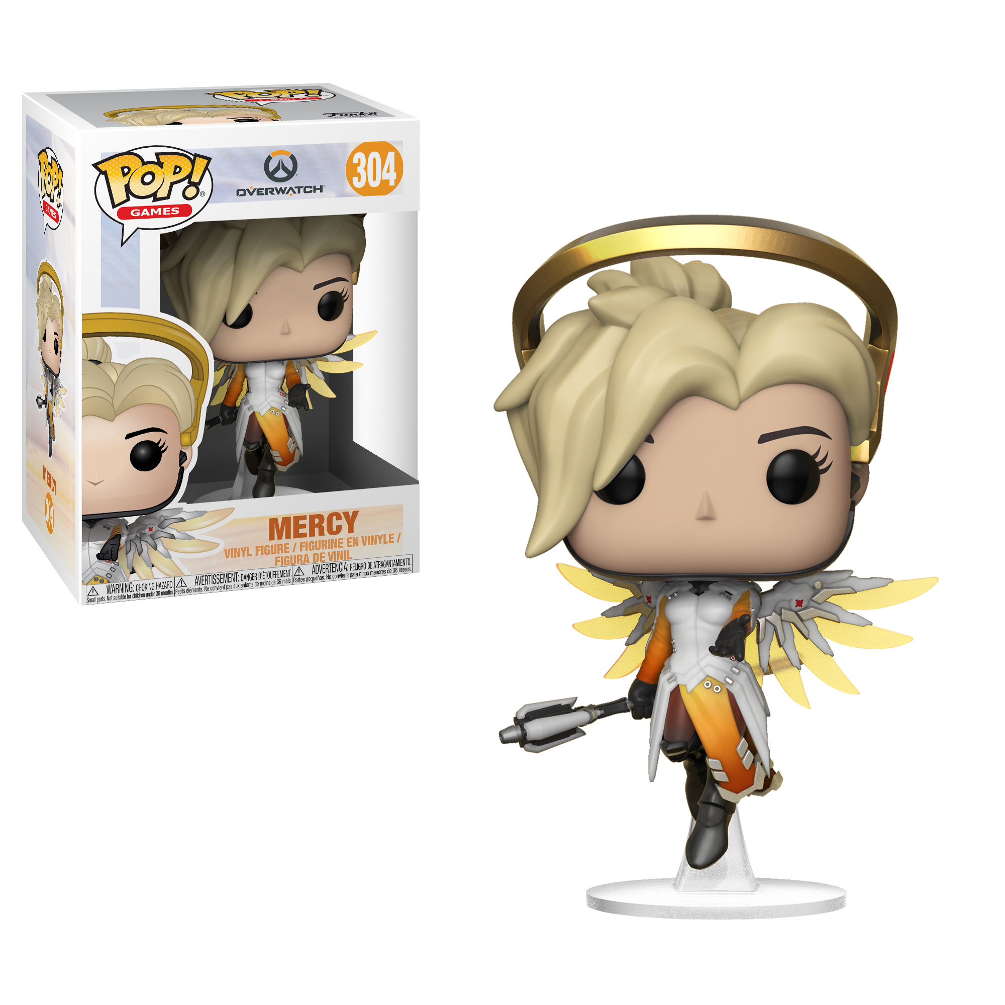 Фигурка Funko POP! Vinyl: Games: Overwatch S3: Mercy 29047