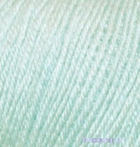 Пряжа Baby wool ( Alize) 522 Мята, фото
