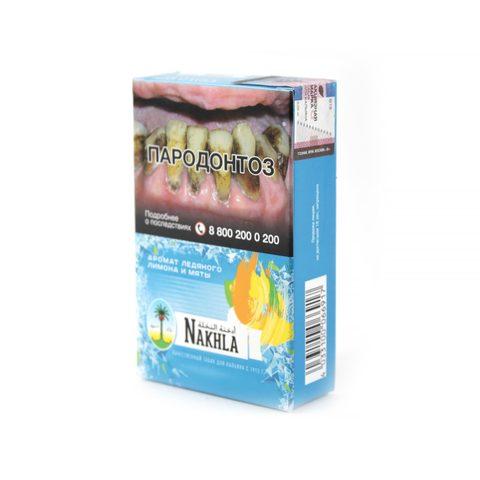 Табак для кальяна Nakhla Ice Lemon Mint 50 гр