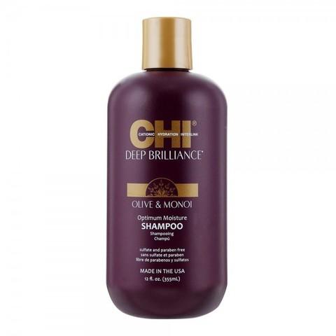 Шампунь увлажняющий  CHI Deep Brilliance Optimum Moisture Shampoo, 355 мл.