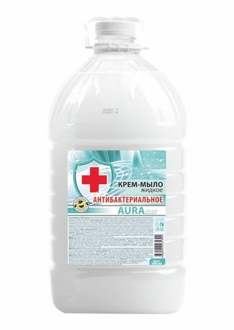 Крем-мыло жидкое Aura Clean Антибактериальное