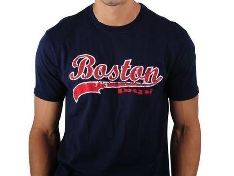 Мужская футболка темно-синяя PAPI Boston