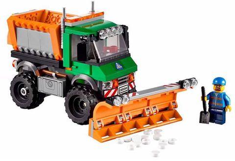 LEGO City: Снегоуборочный грузовик 60083 — Snowplough Truck — Лего Сити Город