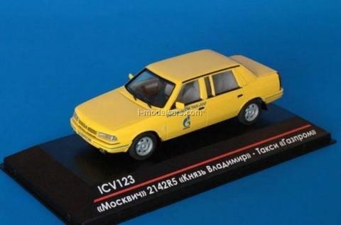Moskvich-2142 Prince Vladimir Taxi Gazprom 1:43 ICV123