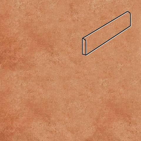 Stroeher - Euramic Cadra E 523 cotto 294х73х8 артикул 8106 - Клинкерный плинтус