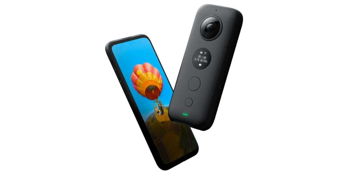 Камера панорамная Insta360 ONE X Dive Combo со смартфоном
