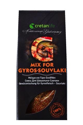 Греческая приправа для гирос и сувлаки CretanLife 50 гр