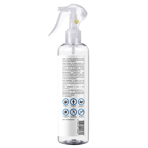 Антисептик спрей для дезинфекции рук, тела и поверхностей Touch Protect 250 ml (2)