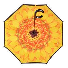 Зонт женский трость наоборот АРТ 2800-2
