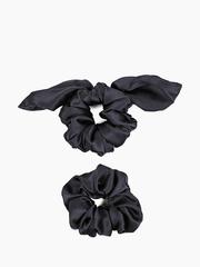 Набор резинок для волос 15 см из натурального шелка Trend