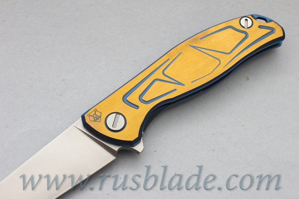 CUSTOM Shirogorov Exclusive Flipper 95 S30V S DUO TONE