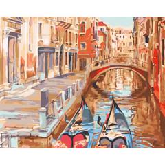 Очарование Венеции- раскраски  по номерам