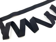 Бейка отделочная черная 25 мм