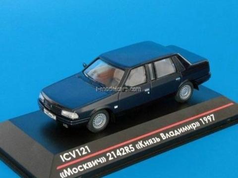 Moskvich-2142R5 Prince Vladimir early edition 1997 dark blue 1:43 ICV121