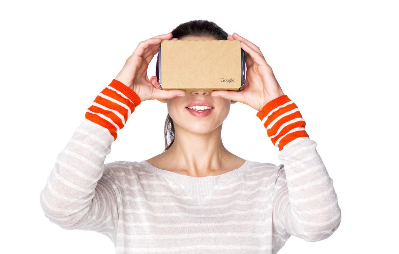 Гарнитура виртуальной реальности Google Cardboard V.2