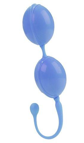 Голубые каплевидные вагинальные шарики L'amour Premium Weighted Pleasure System