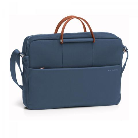 Сумка Roncato Wireless LAPTOP BAG 1 comp. Blue denim