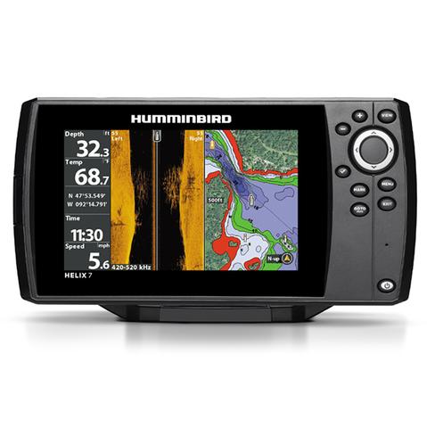 Эхолот-картплоттер Humminbird Helix 7x CHIRP SI GPS G2