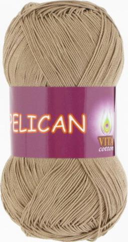 Пряжа Pelican (Vita cotton) 3954 Бежевый
