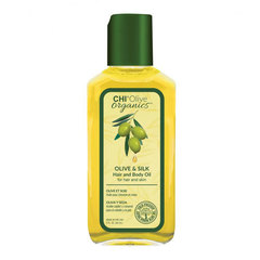 CHI Olive Organics Olive & Silk Hair & Body Oil - Масло для волос и тела