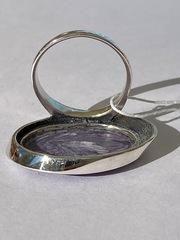 Путорана большая( кольцо из серебра)