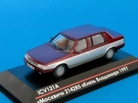 Moskvich-2142R5 Prince Vladimir early edition 1997 Moscow Mayor's Office 1:43 ICV121A