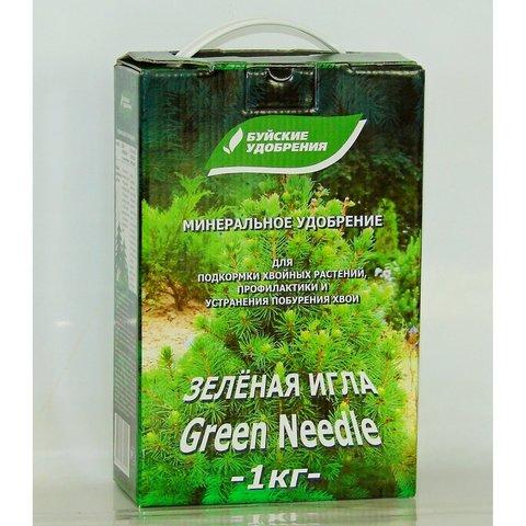 Зеленая игла 1 кг БХЗ удобрение